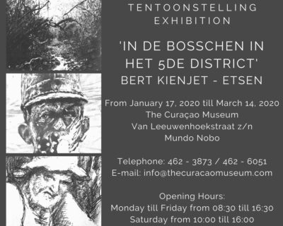 Tentoonstelling 'In de bosschen in het 5e district'  Bert Kienjet – Etsen