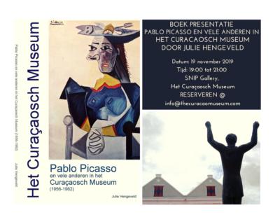 Boekpresentatie 'Pablo Picasso en vele anderen in het Curacaosch Museum'